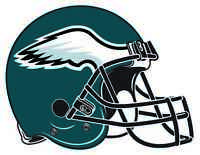 PHILADELPHIA EAGLES HELMET Vinyl Decal / Sticker ** 5 Sizes **
