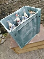 More details for advertising - vintage soda syphons in crate of 6.shop / bar display