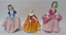 Lot of 3 Vintage Royal Doulton Figurines Little Bo Peep Dinky Do Fragrance u976
