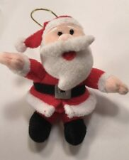 Santa Claus Is Coming To Town 2005 Plush Christmas Ornament New Adventures Llc