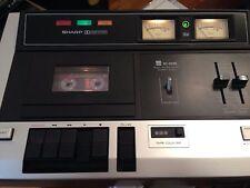 VINTAGE SHARP rt-2500h CASSETTE DECK PLAYER 1980 excellent état voir photos