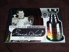 08-09 The Cup Gordie Howe Auto *2/50* Stanley Cup Signatures * Beauty *