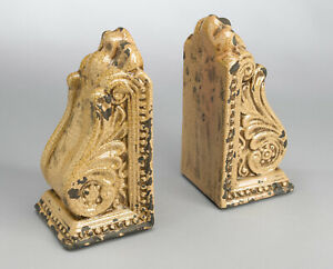 Scratch & Dent AA Importing 10825-yl Yellow Bookend Pair