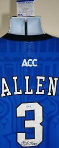 Grayson Allen Duke Blue Devils Autographed Nike Elite Jersey XL Beckett Certed