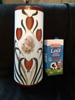 ANCIENNE  GRANDS VASES OPALINE BLANCHE