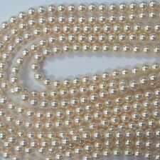 25 Cream Swarovski Crystal Round Pearls 4mm - Style 5810 -FREE PRIORITY POST AUS