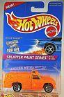 1996 Hot Wheels #408 Splatter Paint Series 1/4 RESCUE RANGER Orange w/Chrome 5Sp