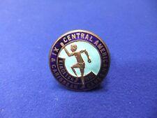 vtg badge athletics central american & Caribbean Kingston games 1962 XI  sport