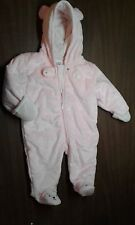 Carter 'Child of Mine' Girl's Fleece Coverall Size 3-6 Months