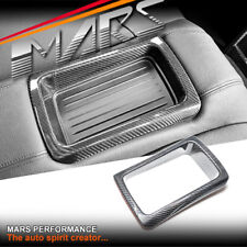 Carbon Fibre Rear Center Console Storage Trim Cover for BMW 4-Series F32 M4 F82