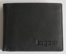 Bugatti Herrenbörse Edles Nappaleder
