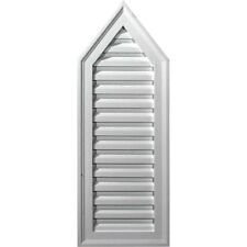 """12""""W x 32""""H x 1 1/8""""P, 8/12 Pitch, Peaked Gable Vent, Functional"""