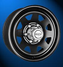 4x NEUE Kia Lada Niva Dotz Pharao black 6 x 15 Zoll Alufelgen LK5/139.7 ET45 mm