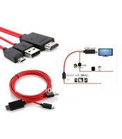 CABLE MHL HDMI HDTV MICRO USB PARA SAMSUNG GALAXY S3 S4 S5 NOTE 2 3 4 11 PINES