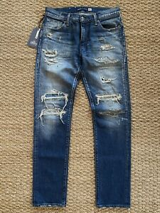 New Men's Levi's Made & Crafted 511 Japanese Selvedge Slim Jeans Sz. 30 $298