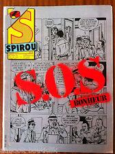 b)SPIROU n°2525; S.O.S Bonheur