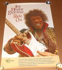 Jimi Hendrix Experience Radio One Poster Original 1988 Promo 24x36