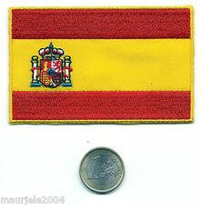 Toppa Termoadesiva Ricamata Bandiera Spagna o Spagnola, Parche Bandera de España
