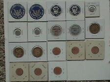 Lot of (18)  Medals/Tokens, U.S. Mint
