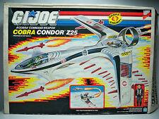 K1082422 CONDOR Z25 W/ AERO VIPER 1989 GI JOE COBRA MIB STYLE W/ DECALS