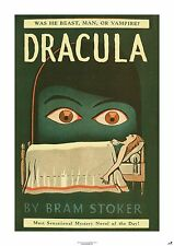 DRACULA  New Poster of Extraordinary Book Cover (A1 size)