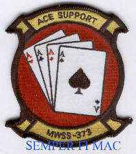 MWSS-373 US Marine Wing Support AUTHENTIC PATCH 4 ACES