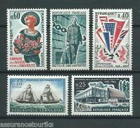 FRANCE - 1965 YT 1446 à 1450 - TIMBRES NEUFS** LUXE