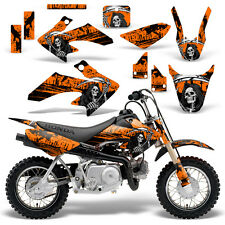 Honda CRF50 Graphic Kit MX Dirt Bike Decals Graphics Wrap CRF 50 04-13 REAP ORNG