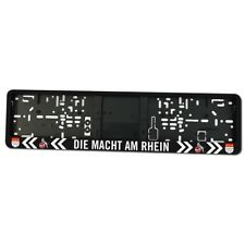 """Kennzeichenhalter Kennzeichenverstärker """"Die Macht am Rhein"""" 1. FC Köln"""