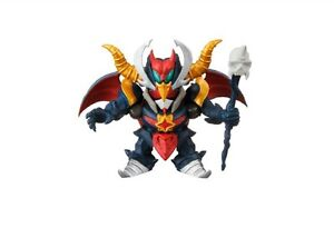 Gundam Next Satan Neo Black Dragon Gundam Desktop Mini SD Figure Bandai @76010
