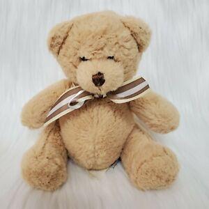 "6"" Loveable Loungers Lil Chum Bear Ganz H11055 Plush Stuffed Lovey Toy B84"