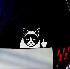 Funny Grumpy Cat For JDM Auto Car Bumper Window Vinyl Decal Sticker DieCut