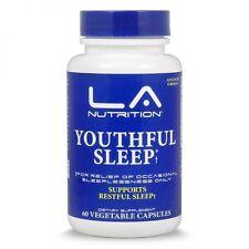 LA Nutrition Youthful Sleep with 5-HTP, Melatonin Natural Sleeping Pills