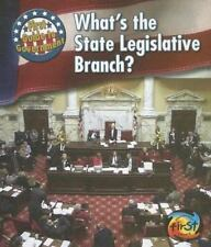 What's the State Legislative Branch? (First Guide to Government)-ExLibrary