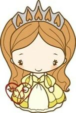 PRINCESS ANYA 2-The Greeting Farm Cling Rubber Stamp-Stamping Craft-RETIRED