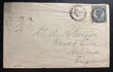 1909 Thursday Island Australia Unframed Cancel Cover To Halifax England