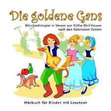 Gebrüder Grimm Die goldene Gans,Hörspiel in Versen; von Käthe Wolf-Feurer [CD]