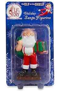 Authentic THE ELF ON THE SHELF STORY Santa Claus Figurine Christmas Ornament