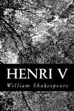 Henri V by William Shakespeare (2012, Paperback)