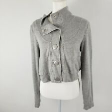 QUICKSILVER GRAY WOMEN'S SIZE L SWEATSHIRT JACKET