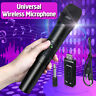 Pro VHF Wireless Microphone Studio Karaoke Speech Handheld Mic With USB Receiver