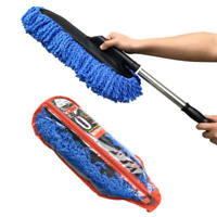 New Microfiber Telescoping Car Wash Body Duster Brush Dust Mop Cleaning Tool