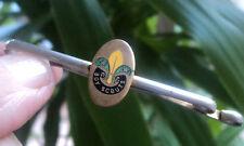 Boy Scout  Enamel Tie Pin / Tiepin / Clip  -   Fleur De Lis Badge c.1950s