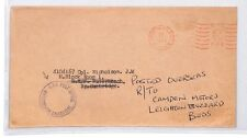 BM66 1963 GB Leighton Buzzard Beds RAF Post Office Cover {samwells-covers}PTS