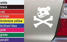 Bear Skull Crossbones Hunting Vinyl Sticker Decal Car-Truck Laptop-Netbook 1465