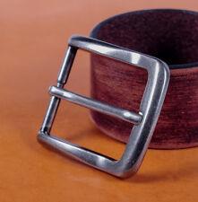 "Rectangular Single Prong Pin Belt Buckle Fits 1 1/2"" Belts Straps Fix Repair DIY"