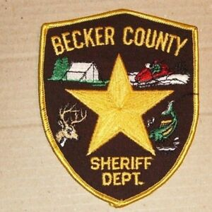 Becker County Sheriff Dept. Patch - OBSOLETE??