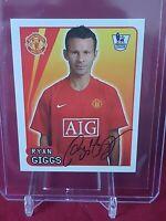 Ryan Giggs Manchester United Premier League 2008 Merlin Sticker