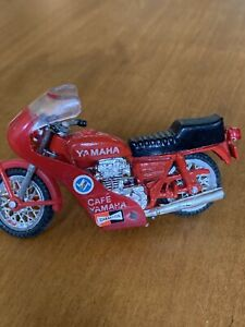 Vintage ZEE Toy Diecast Motorcycle ~ Yamaha 650 Cafe Racer Bike