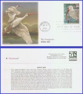 USA5 #4099j U/A FLEETWOOD FDC   White ibis Southern Florida Wetland